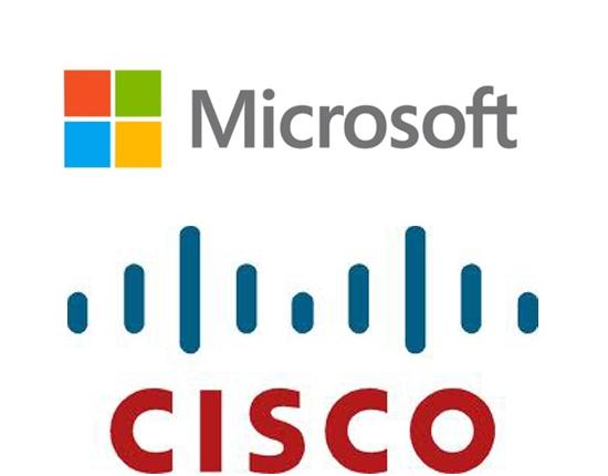 Cloud market leader Amazon AWS, leads to Microsoft / Ciscopartnership